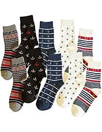 Yifen hombres calcetines de algodón rico calcetines deportivos al aire libre