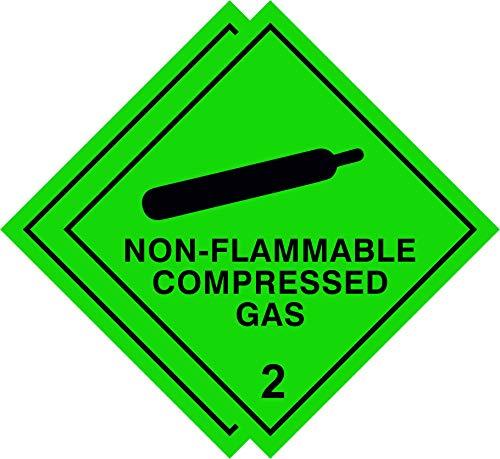 Warnschild Gefahrenschild in Fahrzeugqualität, Diamant-Siebdruck, Sicherheitsetikett Entspricht britischen HSE-Vorschriften von 2009.