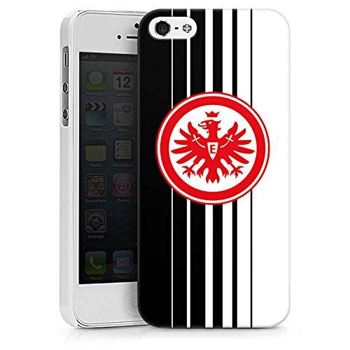 Apple iPhone X Silikon Hülle Case Schutzhülle Eintracht Frankfurt Fanartikel Fußball SGE Hard Case weiß