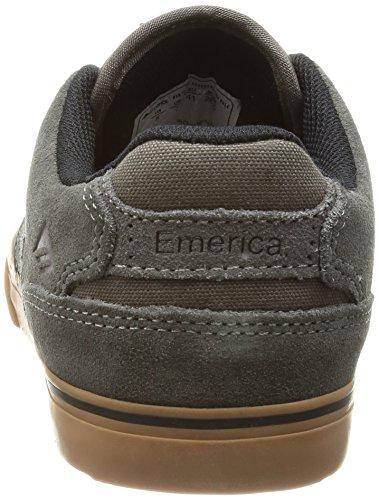 Emerica - The Reynolds Low Vulc, Scarpe da skateboard da uomo Grigio