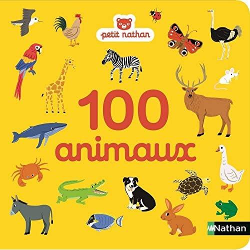 100 animaux - imagier - dès 6 mois