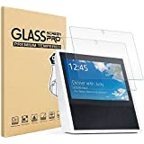Amazon Echo Show Screen Protector, Pasonomi [2 Pack] [9H Hardness] [Crystal Clear] [Scratch-Resistant] Premium Tempered Glass Screen Protector Film for Amazon Echo Show