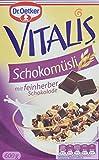Dr. Oetker Vitalis Schoko Müsli feinherb, 6er Pack (6 x 600 g)