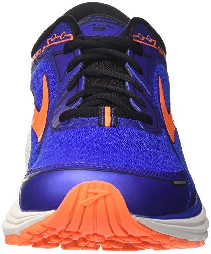 Brooks Aduro 5, Scarpe da Running Uomo Rosso (Blue/Orange/Black 1D494)