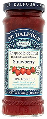 St Dalfour Strawberry Spread (Pack of 6)