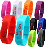 ROYALS LED Silicone Sports Wristband Watch (1 Piece)