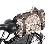 Gepäckträgertasche Pilgrim Väska 36x20x26cm beige Bowlingtasche Damentasche
