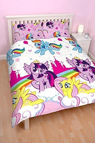 My Little Pony Equestria' Double Duvet Set - Repetitive Print Design