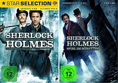 Sherlock Holmes Teil 1+2 Die Kinofilme [DVD Set]