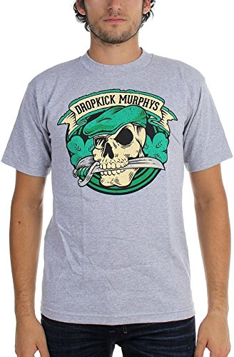Dropkick Murphys Swordmouth Skull Tour T-Shirt
