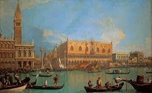 Clementoni - Puzzle - Canaletto: Vista del palazzo ducale a Venise