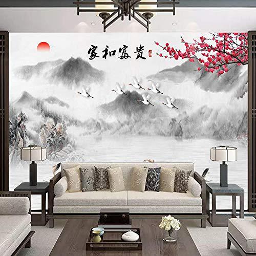 150 * 105Cm Wandbild Hintergrundbild Tapete Tapete, Neuer Chinesischer Landschaftsmaler, Verziert Mit Fernsehhintergrundwand, Wandgemälde -