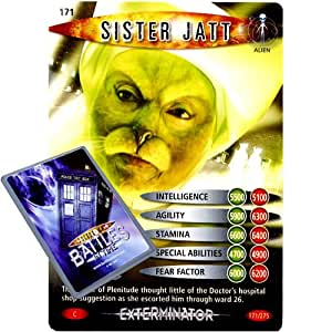 Doctor Who - Single Card : Exterminator 171 Sister Jatt Dr Who Battles in Time Common Card