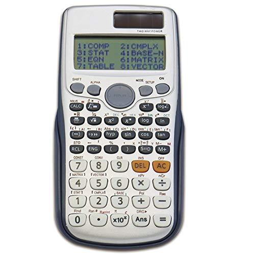 Taschenrechner Wissenschaftlicher Taschenrechner SchiebegehäUse 10 + 2 Stellige Anzeige, Multifunktion Kunststoffknopf SchüLerprüFung (8 pcs Taschenrechner) - Große Taschenrechner 8-stellige Anzeige