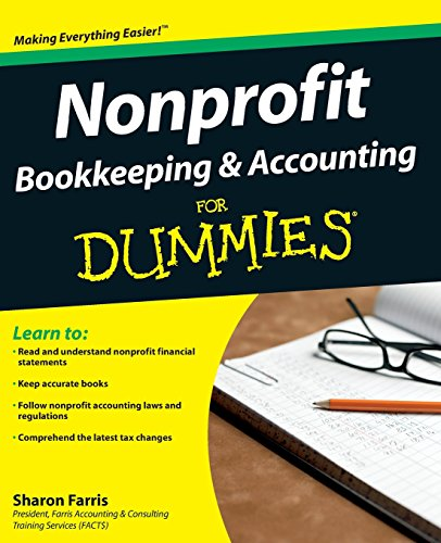DOWNLOAD] Nonprofit Bookkeeping Accounting FD (For Dummies