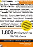 1.800 Profischriften für Windows mit...