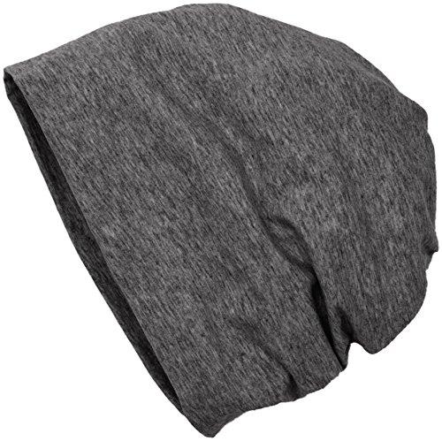 MSTRDS Unisex Erwachsene Jersey Beanie Strickmützen,per pack Grau (heather Charcoal 3419),One Size (one size)