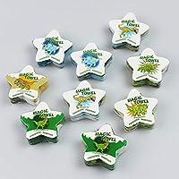 Kamaca - Juego de 4 Toallas mágicas (100% algodón), algodón, 12er