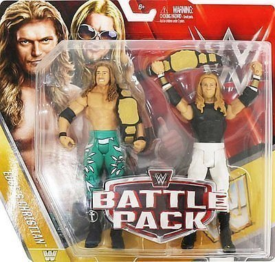 WWE Kampf Pack: Serie 42 Aktion Figuren - Kante & Christian Mit Tag Team Gürtel Zubehör (Action-figur-gürtel Wwe Wrestling)