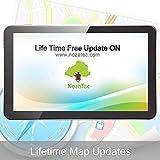 Noza Tec Sat Nav, 7 inch Gar GPS Navigation with UK and Full EU Maps, Free Lifetime Map Updates 8GB (Without Bluetooth)