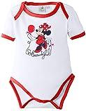 Disney Minnie Mouse - Body para niñas, color rot (optic white/red), talla 92/24 meses