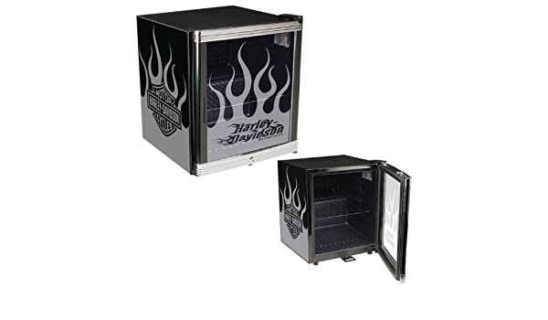 Mini Kühlschrank Harley Davidson : Harley davidson flames kühlschrank amazon baumarkt