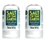 (2 PACK) - Salt Of/Te Natural Deodorant - Travel Size | 50g | 2 PACK - SUPER SAVER - SAVE MONEY