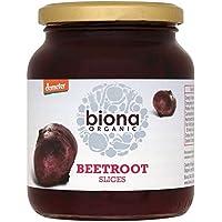 Biona Organic Rodajas De Remolacha (340g) (Paquete de 6)