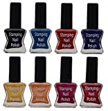#7: Lifestyle-You® Special Stamping N a i l P o l i s h Set (Set of 8)