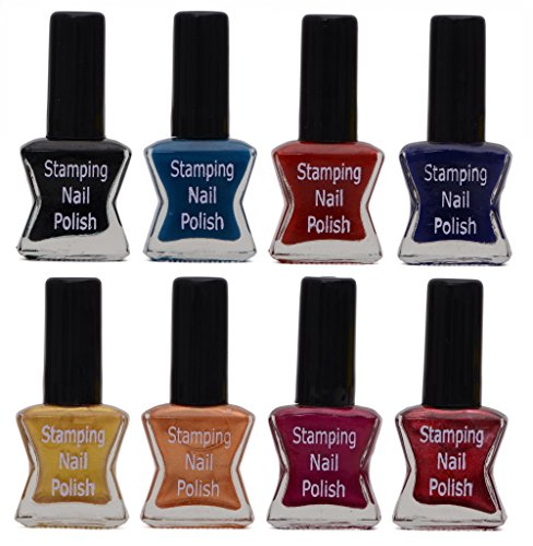 Lifestyle-You Special Stamping Nail Polish (LY972A) - Set of 8