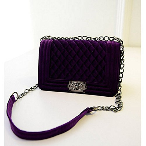 Eysee, Borsa a tracolla donna vinaccia rosso Dark purple 20cm*16cm*16cm Dark purple