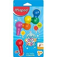 Maped 933600X6Couleur Peps Mon premier bébé Cire crayon