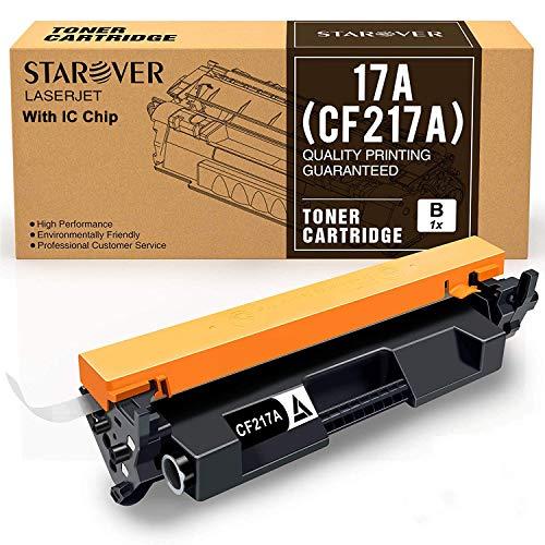 STAROVER 1x 17A CF217A Con Chip Cartucho De Tóner