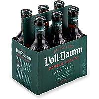 Voll Damm Doble Malta Cerveza - Pack de 6 x 25 cl - Total: 1,5 l