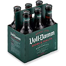 Voll Damm Doble Malta Cerveza - Pack de 6 x 25 cl - Total: 1