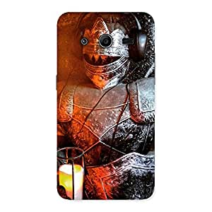 Special Warrior Knight Print Back Case Cover for Galaxy Core 2
