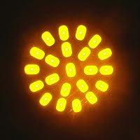 Nolunt(TM) 1157 22 SMD LED del segnale di girata della lampadina della coda del freno dell'automobile angolo di arresto Parcheggio indicatore laterale della luce della lampada