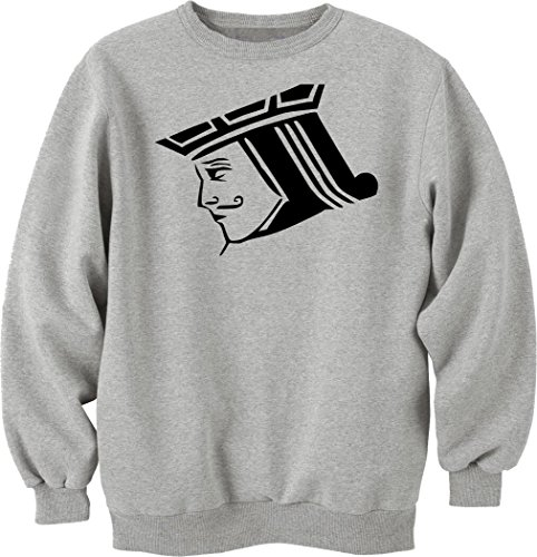 Pot Jack (Black jack stencil Unisex Sweater X-Large)
