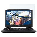 atFolix Schutzfolie kompatibel mit Acer Aspire VX 15 Panzerfolie, ultraklare und stoßdämpfende FX Folie (2X)