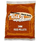 Bag Up Baits Boosted Tutti Frutti 2mm Carp Pellets Session Pack With Free Delivery
