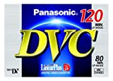 Panasonic AY-DVM80FE Mini-DV Digitale Videokassette (80min, Linear Plus) -