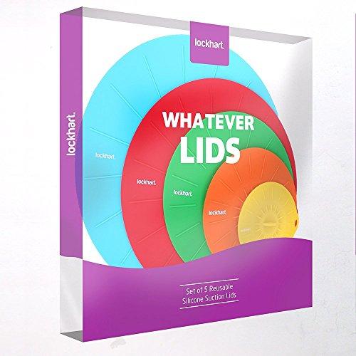lockhart-designs-whatever-lids-lot-de-5-couvercles-hermetiques-en-silicone-de-qualite-superieure-eff