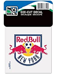 SOCCER New York Red Bulls Perfect Cut Color Decal, 4 x 4 by WinCraft