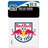 SOCCER New York Red Bulls Perfect Cut Color Decal,10x10 cm (4