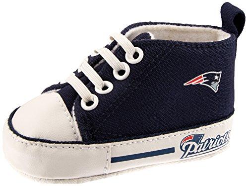 Baby Fanatic Pre-Walker Hightop, New England Patriots by Baby Fanatic -