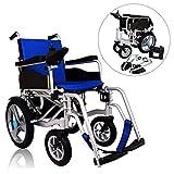 JL-Q Aluminium-Legierung Doppel-Motor Elektro-Rollstuhl faltbaren Alten Roller intelligenten automatischen Lithium-Batterie-Rollstuhl,withoutheadrest