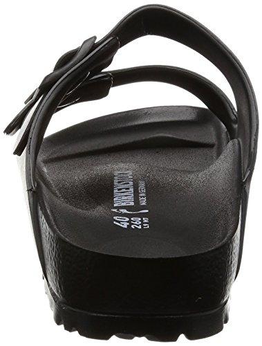 Birkenstock Arizona EVA Unisex-Erwachsene Pantoletten Schwarz (Black 23)