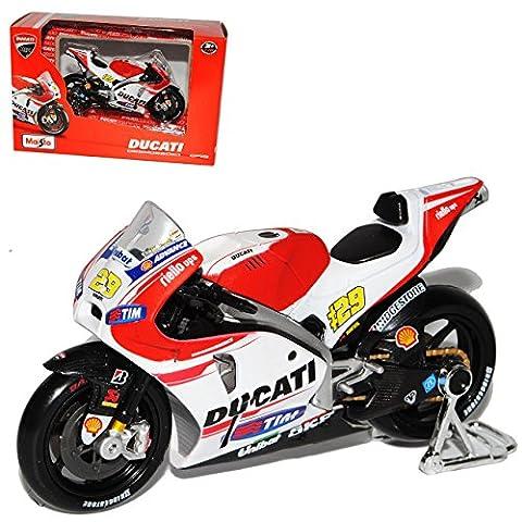 Ducati Desmosedici GP15 Andrea Iannone Nr 29 Moto GP 2015 1/18 Maisto Modell Motorrad
