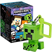 Minecraft Bobble Mobs Key Chain Blind Box (One Mystery Figure), Series 1 Collectible