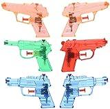 PACK DE 6 PLASTIQUE pistolets à eau EAU